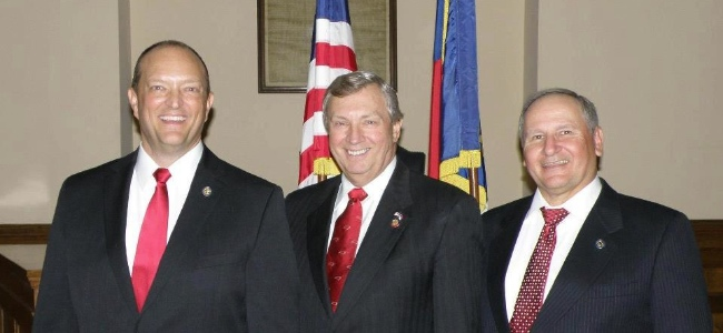 NC House Rep. Dean Arp, Craig Horn and Mark Brody