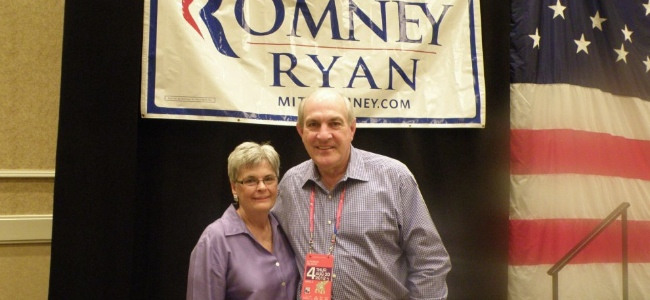 Former Chairman Joe and Dianne Pomykacz